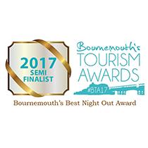 Bournemouth Tourism Awards Finalist 2017, Renoufs