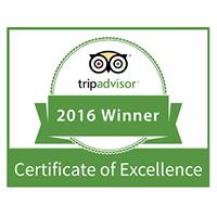 Tripadvisor Certificate of Excellence 2016, Renoufs